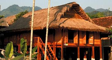 Thai stilt house
