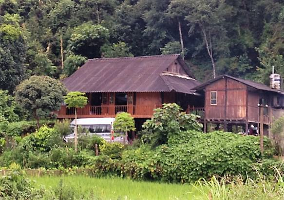 A local house in Mu Cang Chai