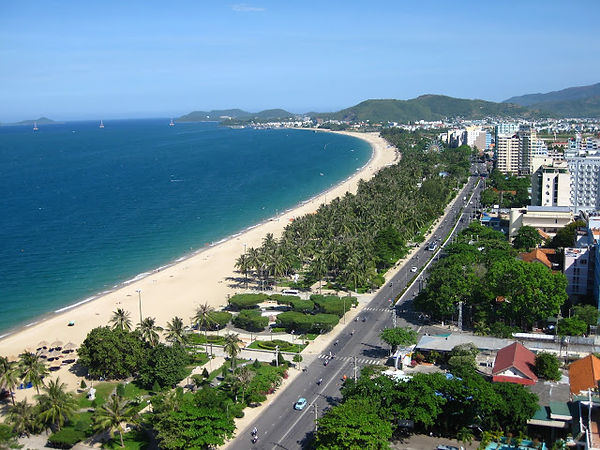 Nha Trang City racking ideas for Christmas days out in Vietnam