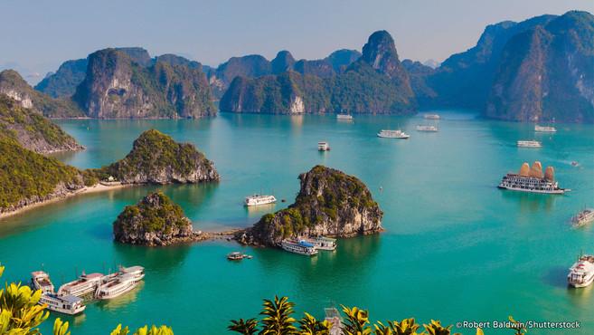 Ha Long Bay World Heritage Sites of Vietnam