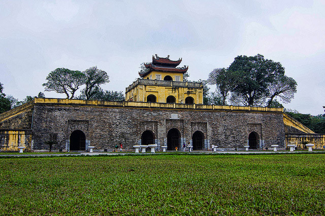 The Imperial City Center of Thang Long World Heritage Sites of Vietnam