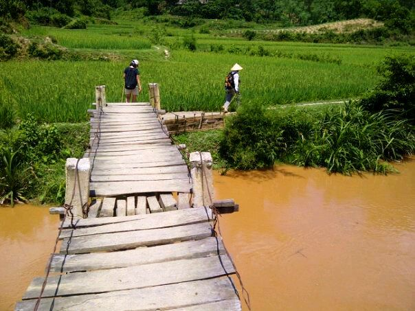 On a Trek in Pu Luong