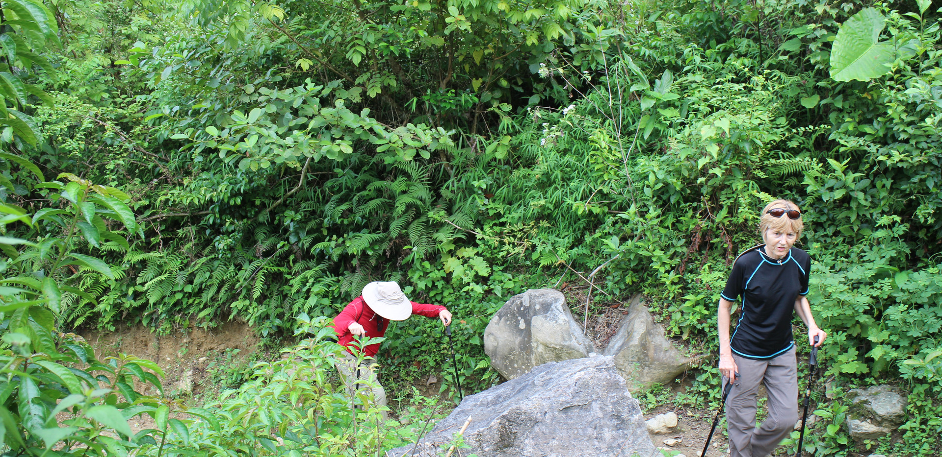 Hard trekking trails in Bac Son