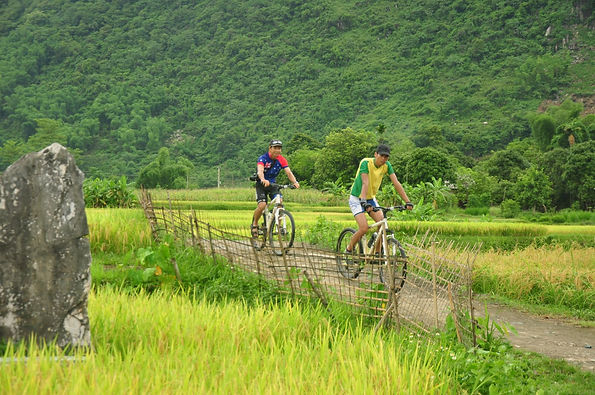 vietnam cycling racking ideas for Christmas days out in Vietnam