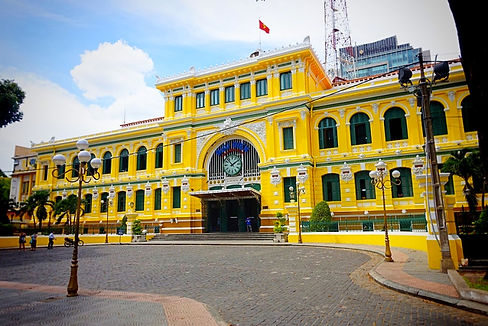 Saigon-post-office. Sai Gon Travel Guide