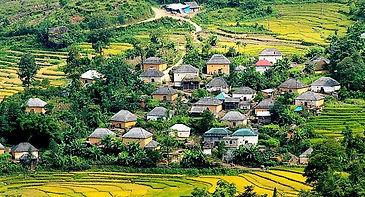 A village of the Ha Nhi