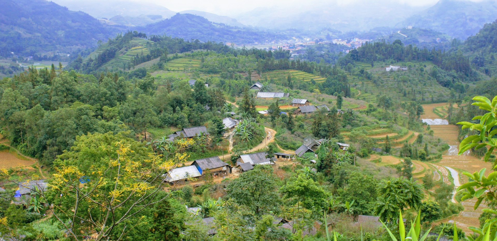 Overview Sapa village