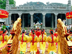Festival at Thai Vi Temple