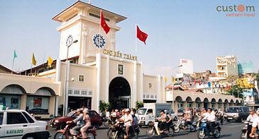 Ben Thanh Market. HCMC