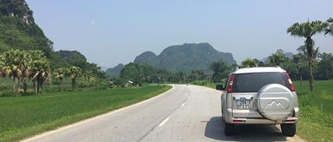 Drive to Cao Bang