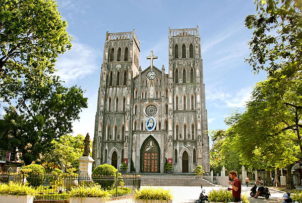 st. joseph's cathedral Hanoi Travel Guide