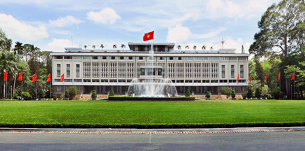 Reunification Palace.Sai Gon Travel Guide
