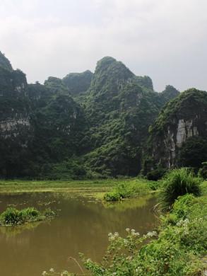 Trekking Path in Ninh Binh