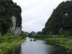 Ngo Dong River in Tam Coc