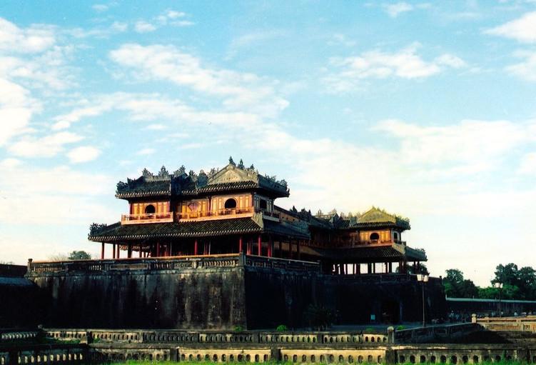 The gate of Hue's Citadel World Heritage Sites of Vietnam