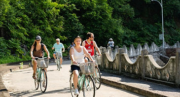 cycling in cat ba island