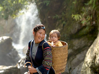 Hmong mother and child