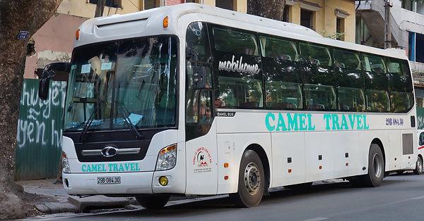 Cameltravel bus.Hue Travel Guide