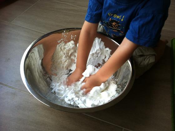 Foam Dough - a soft experience