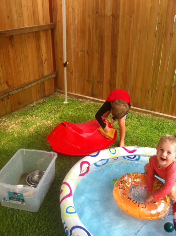 Children's car wash