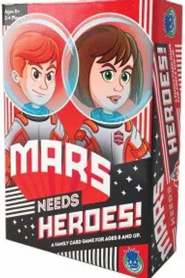 Mars Needs Heroes