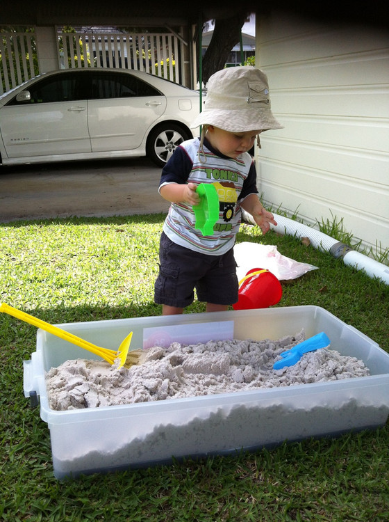 DIY Water & Sand box