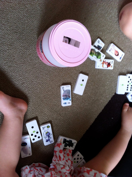 Woolworths Dominoes are taking over my house!