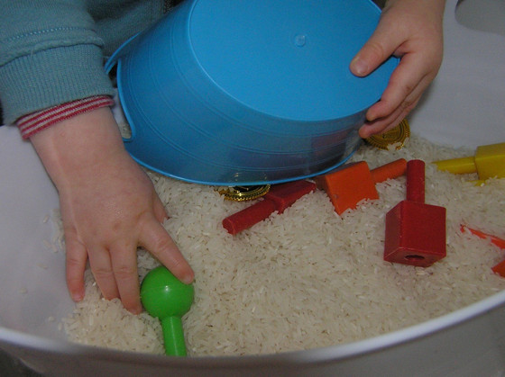 Messy play without the messy (much!)