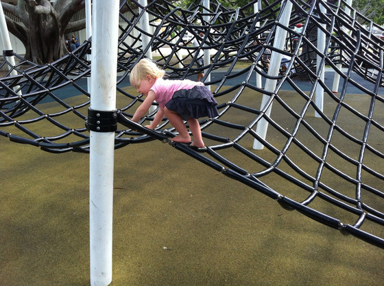 Climbing, Hanging, Swinging