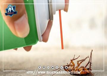 ابادة الصراصير نهائياً باقوي المبيدات الحشرية بجدة بايدي عمالة افضل شركة مكافحة الصراصير بجدة.