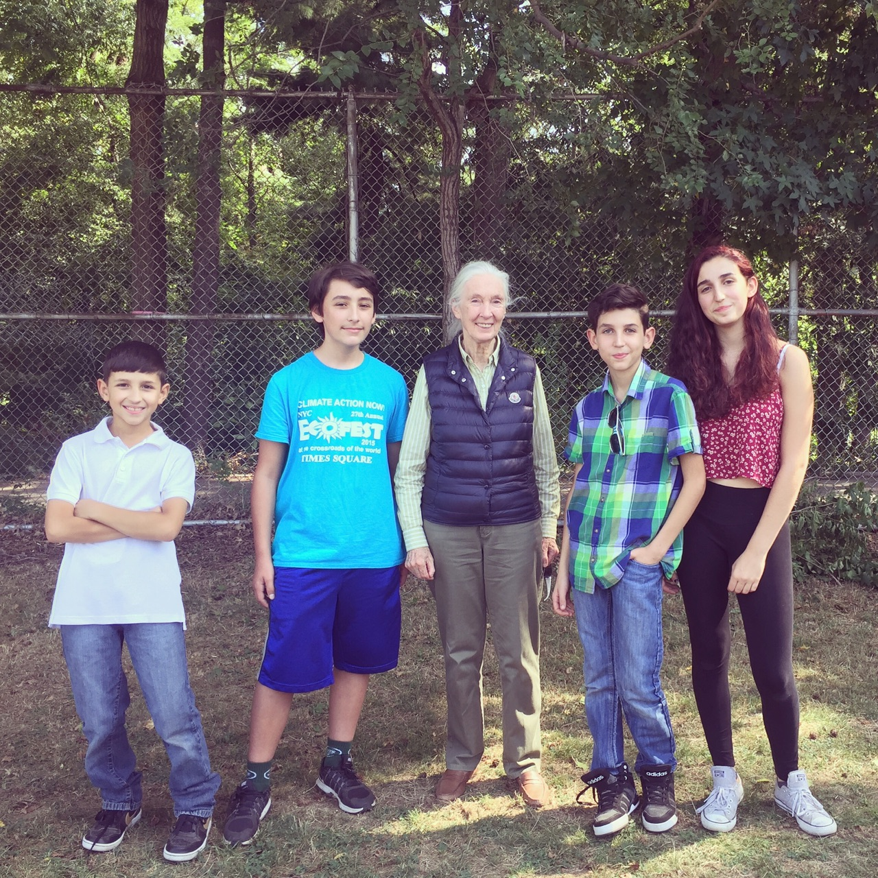Van Cortlandt Park w/ Jane Goodall