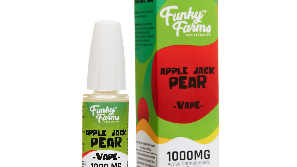 Apple Jack Pear CBD Vape Juice