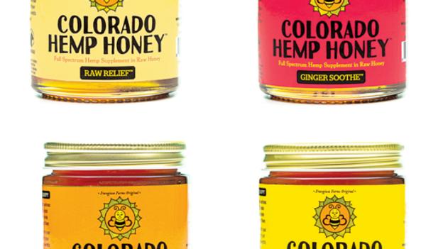 Colorado Hemp Honey 6 oz. Jar