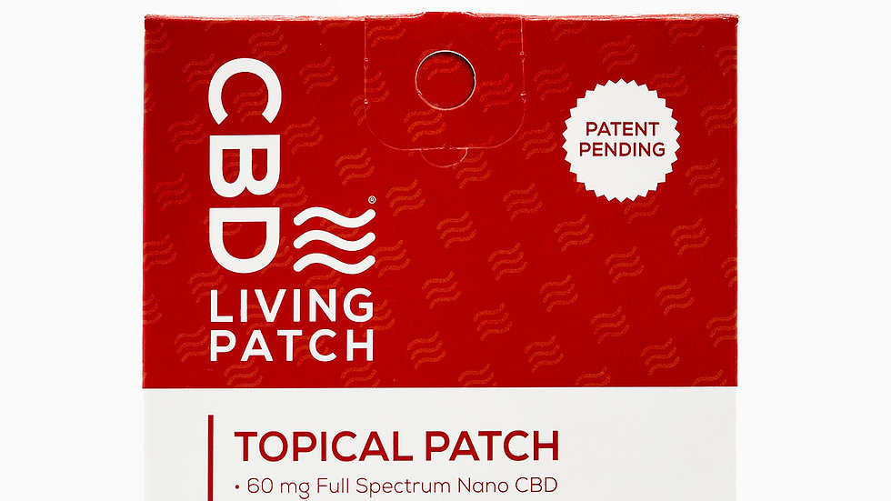 CBDLiving Topical Patch