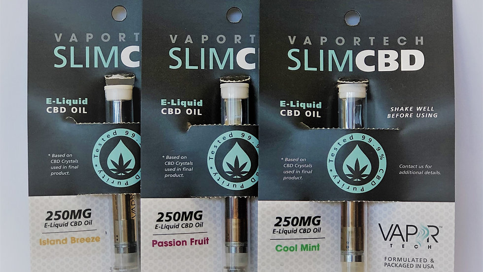 CBD Isolate Vape Cartridges