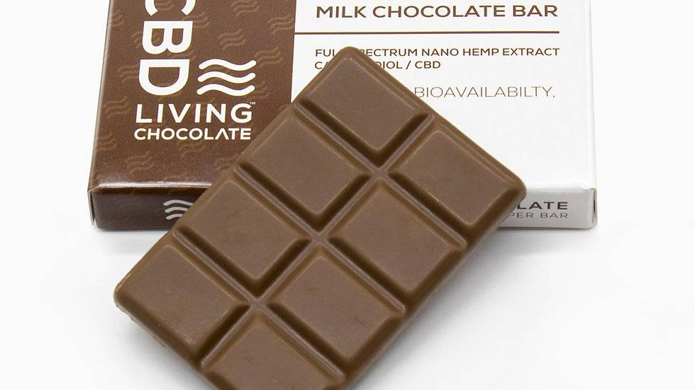 CBDLiving Milk Chocolate Bar