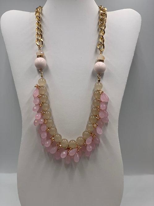 Pink/ Gold