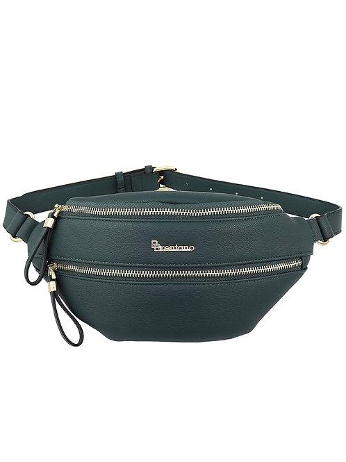 Green Leather Women Fannypack
