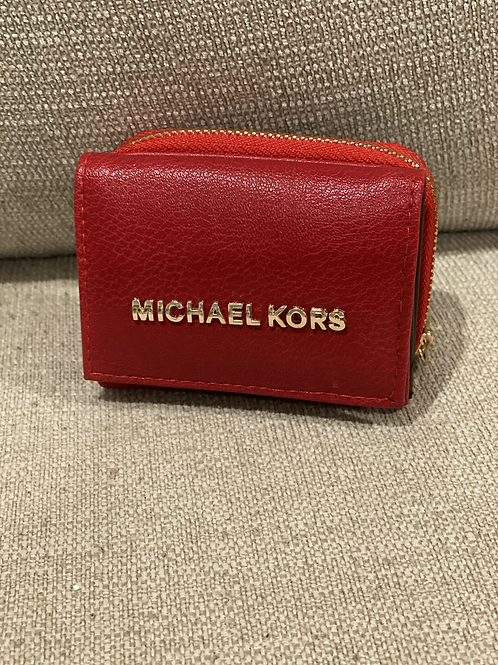 Red MK Wallet