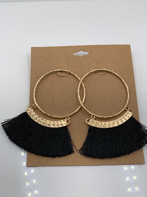 Gold/Black Tassel