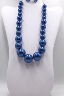 Blue Metal Pearls