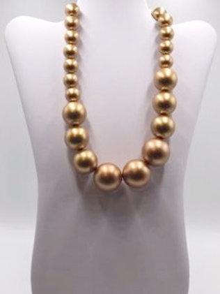Large Gold Pearls