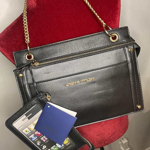 Leather Shoulder/Clutch Bag
