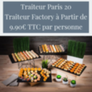 Traiteur Paris 20