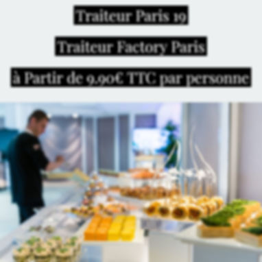 Traiteur Paris 19