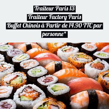 Traiteur Paris 13