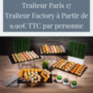 Traiteur Paris 17