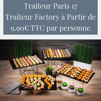 Traiteur Paris 17