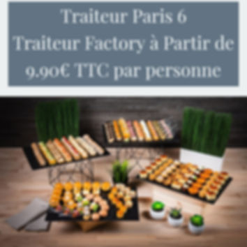 Traiteur Paris 6