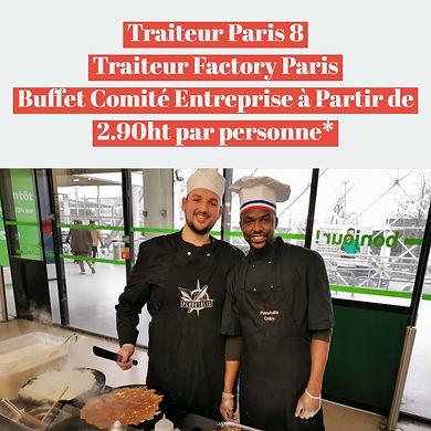 Traiteur Paris 8